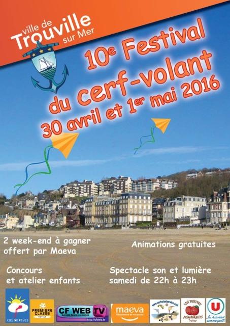 Souvent Calendrier 2016 de Manifestations : Berck, Dieppe, Cayeux sur Mer  KU99